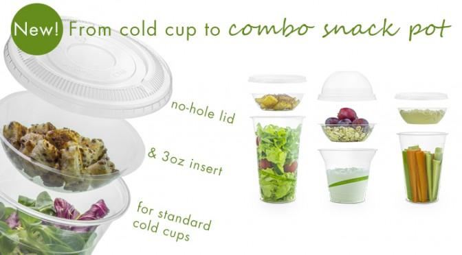 Cold cup insert Vegware parfait