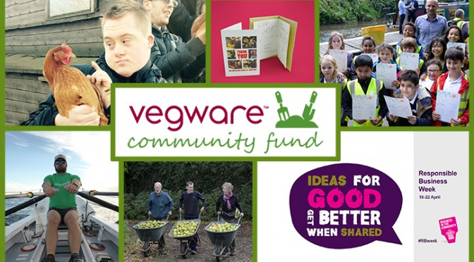 vegware community fund responsible business week csr