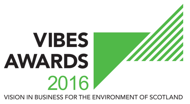 Vegware VIBES sustainability awards scotland edinburgh 2016