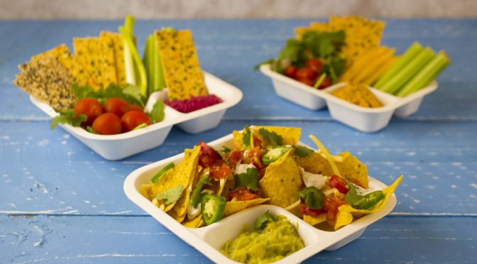 gourmet range vegware eco packaging compostable nacho
