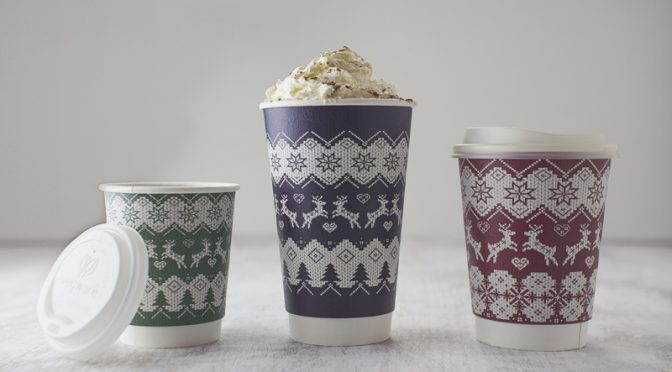vegware hot cups christmas jumper