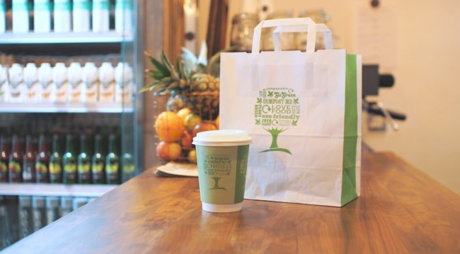 green tree collection film vegware compostable eco packaging