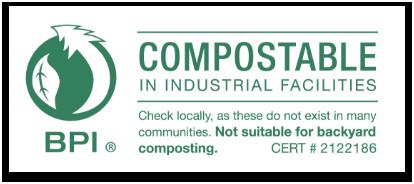 BPI compostable logo