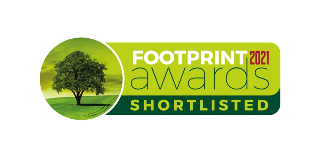 Vegware shortlisted in the Footprint Awards